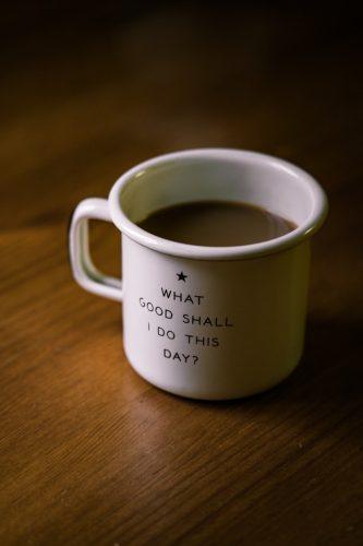 Bæredygtige tanker skal både bruge kaffe og nudging.